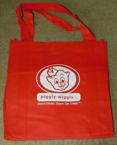 REUSABLE PIGGLY WIGGLY GROCERY / SHOPPING BAG (New)
