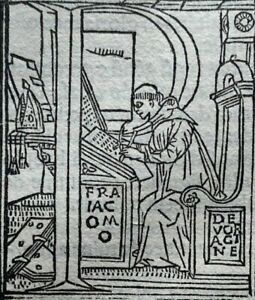 1498 LARGE FRAGMENT of 18 LEAVES - COMMENTARIA IN BIBLIAM, ORIGINAL Incunabula