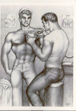 tof 3  Tom of Finland post card 1962 image tattoo