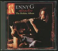 KENNY G Miracles The Holiday Album 1994 CD GERMANY ARISTA CHRISTMAS