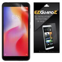 4X EZguardz New Screen Protector Cover HD 4X For Xiaomi Redmi 6