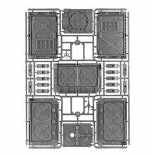 Necromunda Underhive 2017 Bulkheads - Warhammer 40k Scenery - Unboxed
