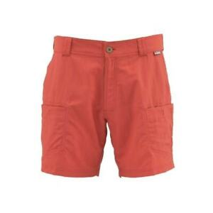 SALE Simms High Water Short Spiced Coral Lg NEW FREE SHIPPING