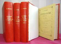 Histoire de la littérature Française  D. Nisard 4/4 vols. 1860