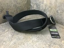 Elite Survival COBRA Riggers Belt with D Ring Buckle CRB-B-SM Black - Small