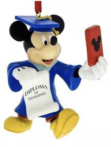 Disney Parks Christmas Mickey Graduation Selfie Ornament