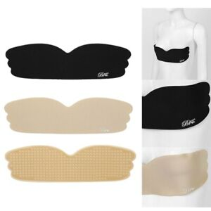 Women Invisible Bra Silicone Cover Breast Pasties Stickers Strapless Wing Soft