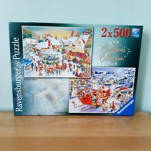 Ravensburger 2 X 500 Piece Jigsaw Puzzle Christmas Collection (Unchecked)
