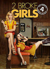 NEW 2 Broke Girls: The Complete Fourth Season (DVD, 2015, 3-Disc Set) widescreen