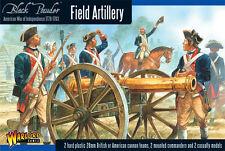 Field artillery-Nero Polvere guerra di indipendenza americana-WARLORD GAMES