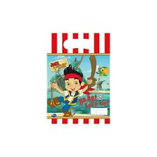 Disney Jake and the Neverland Pirates Party bags (6 Loot bags)