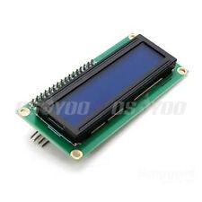 IIC/I2C/TWI/SPI Serial Interface1602 16X2 Character LCD Module Blue Display