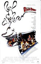 "Who Framed Roger Rabbit movie poster  -  11"" x 17"" inches - Bob Hoskins"