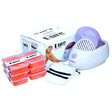 PURE PARAFFIN WAX HEATER SPA BATH PEACH KIT - FAST FREE DELIVERY