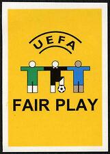 UEFA Fair Play #2 Euro 2008 (Brazilian) Sticker (C373)