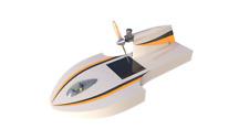 Control remoto de los planes de barco Hazlo tú mismo radio control modelo De Barco Velero Barco de carrera Juguete al aire libre