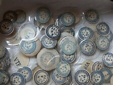Pocket Watch Crystals Parts Lot Of 70+ Antique Glass