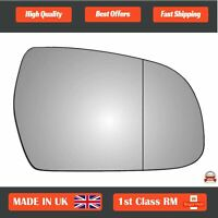 Right Driver Side Wide Angle Wing Mirror Glass for Audi A4 2012-2015 380RAS
