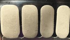 100% Nail Polish Strips/wrap! White Glitter
