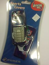 Nokia 3120 Freo Dockers AFL Official Team Cover Set - Front, Back & Keypad B/New
