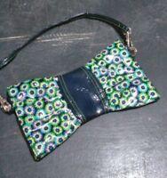 Vera Bradley side zip frill purse