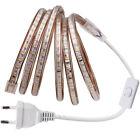 220V 230V LED Strip Streifen dimmbar AN/AUS Lichtleiste Lichtband Licht Schlauch