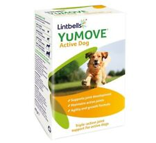 Lintbells YuMOVE Active Dog supplement 60 Tablets Supports joint development