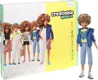 Creatable World Deluxe Character Kit Customizable Doll Blonde Hair Kid Toy Gift
