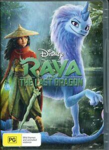 Disney Raya And The Last Dragon DVD NEW Region 4