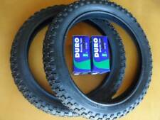 Kids Bicycle Tires and Tubes 16x2.125 Fits 16x1.75 16x1.95 Black BMX 16""