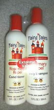 Fairy Tales Lice Prevention Rosemary Repel Shampoo 12 oz & Conditioner 8 oz NEW