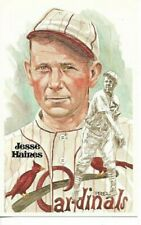 Jesse Haines Perez-Steele Hall of Fame Art Postcard St. Louis Cardinals #118