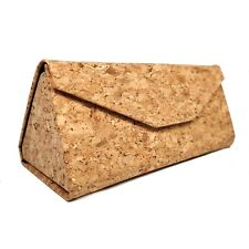 Folding cork glasses/sunglasses case - hard shell - vegan & eco-friendly