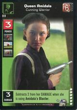 Star Wars TCG CCG Young Jedi Enhanced Darth Maul Premium P3 Queen Amidala