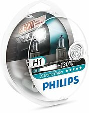 2 x Bombillas Philips X-Treme Vision H1 130% Extreme Xtreme Faros Halogeno Coche