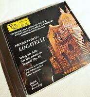 Locatelli, Sei introduzioni teatrali Op. IV, Agostino Orizio, CD fonè 1995 NM