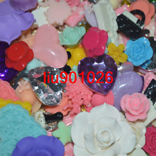 20G Mixed Flatbacks Resin Scrapbooking Cabochon Buttons Jewelry DIY Kawaii`