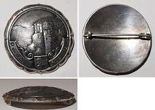 Broschen-Anstecknadel O du mein Ros'ntal! mit Wappen von Kärnten