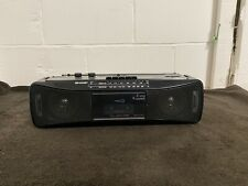 Vintage Sharp QT-250E Stereo Radio Cassette Tape Recorder fully tested/working