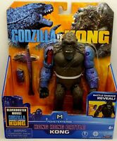 "Playmates Monsterverse Godzilla vs Kong 6"" Hong Kong Battle KONG Figure New"
