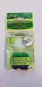 Clover Point Protectors for Circular Knitting Needles Small 3004
