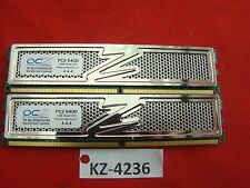 2 gb (2 x 1gb) ddr2-ram pc2-6400u cl4 Platinum revisión 2 'OCZ OCZ 2 p 800 R 22 GK'