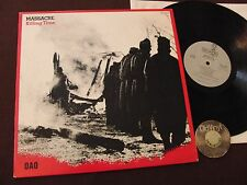 LP Massacre Fred Frith Killing Time Canada USA ? 1983 | M-