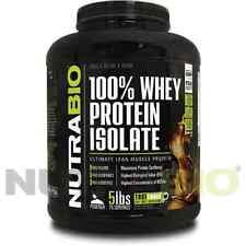 WHEY PROTEIN ISOLATE - CHOCOLATE  5 LBS - LACTOSE  FREE