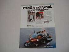 advertising Pubblicità 1979 MOTO BMW R 100 RS/S/7