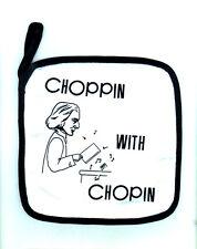 Choppin' with Chopin Pot Holder