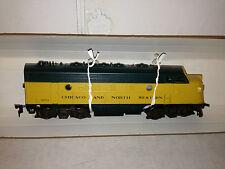 Athearn HO Train Engine F7A Chicago & North Western Powered Loco 3131