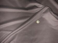 Tissu velours à côtes moyennes marron  50 cms * 150 cms NEUF