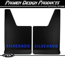 2005-2012 Chevrolet Silverado Z71 2500, Mud Flaps Z-71, MUDFLAPS Silverado_BLUE