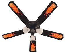 "New HOT FLAMES BASKETBALL SPORTS Ceiling Fan 52"""